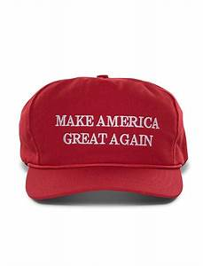 Official Donald Trump Make America Great Again Hat- Red ...