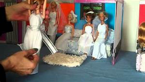 How to make a doll wedding dress super easy doll for How to make a wedding dress
