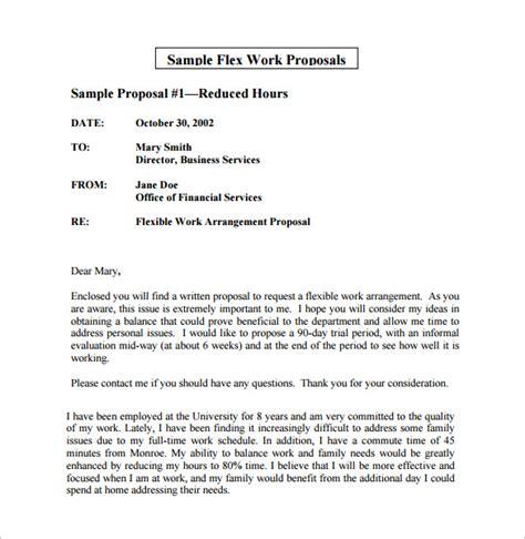work proposal template   sample  format