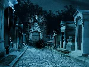 premade background graveyard by H-stock on DeviantArt