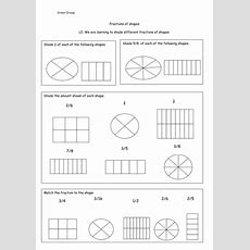 Fractions Shading Different Fractions Of Shapes By Cmclaughlin4  Teaching Resources