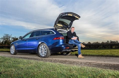 jaguar xf sportbrake 2018 term test review car magazine