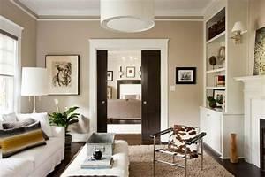 Taupe Grau Wandfarbe : 1001 wohnzimmer ideen die besten nuancen ausw hlen ~ Indierocktalk.com Haus und Dekorationen