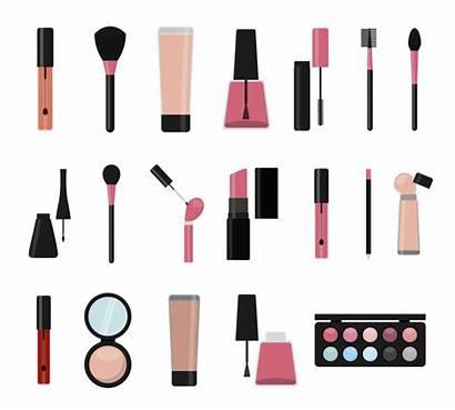 Maquillaje Icon Trucco Isolated Makeup Iconos Aislado