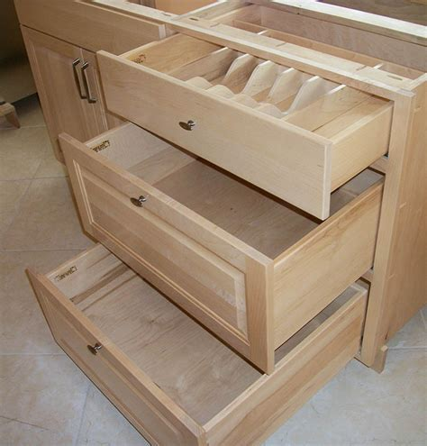 Custom Cabinet Drawers   Charles R. Bailey Cabinetmakers
