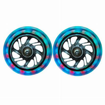 Wheels Led Wheel Globber Scooter Replacement Scooters