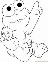 Coloring Pages Elmo Sesame Street Characters Cartoon Pdf Printable Coloringpages101 Sheet Kerra Getcolorings Template sketch template