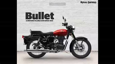 Enfield Bullet 350 2019 by 2019 Royal Enfield Bullet 350 And Bullet 350 Es Get New