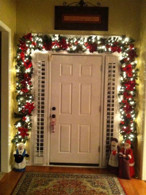 costco garland christmas christmas porch christmas