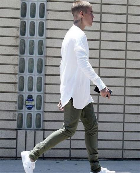 Shop justinbieber sneakchic outfit pants shirt shoes on SeenIt - 27648