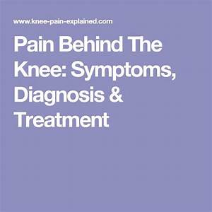 17 Best Images About Knee Pain Resources On Pinterest