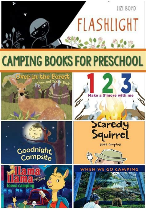 books about camping for preschool pre k pages 828   Books About Camping for Preschool
