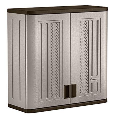 suncast wall storage cabinet platinum garage kitchen