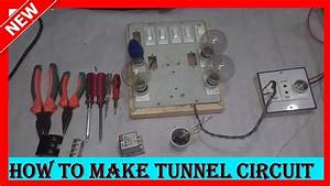 How To Make Tunnel Circuit Or Godown Wiring Circuit Diagram