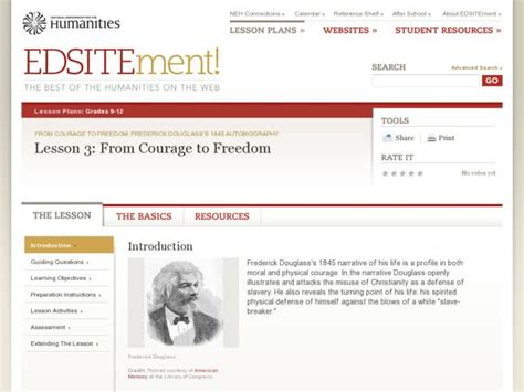 From Courage To Freedom Lesson Plan For 10th