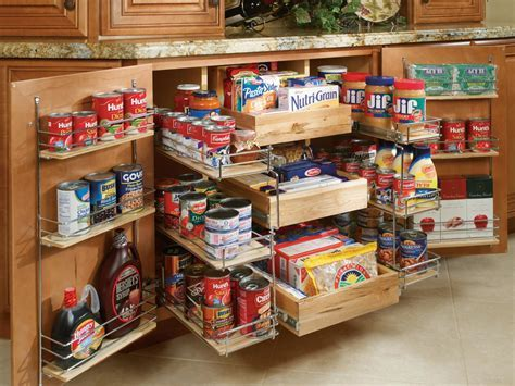 Pullout Pantry Shelving Solutions   HGTV