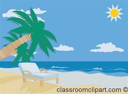 Beach Clipart Sun Chair Sand Summer Hawaii