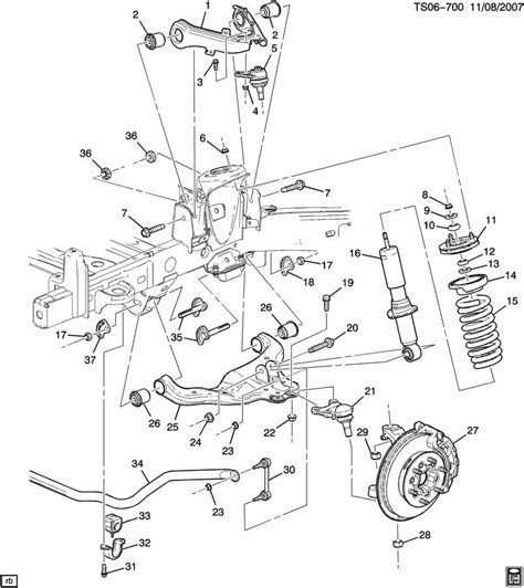 Chevy Front End Part Diagram by Chevrolet Colorado 2 8 2004 Auto Images And Specification