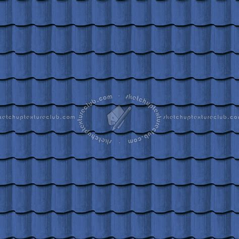 blue clay roofing mercurey texture seamless