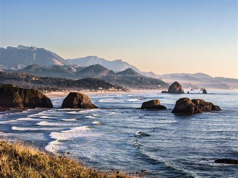 panoramio photo of cannon beach from ecola state park