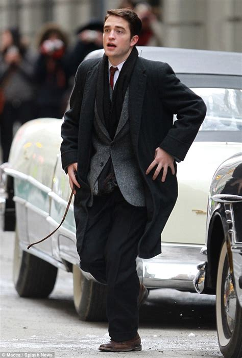 Robert Pattinson hits Life movie set as photographer pal ...