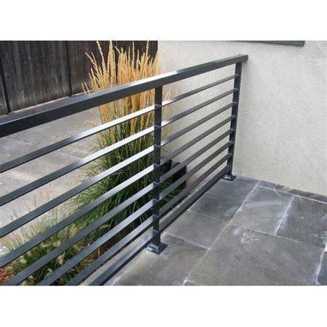 Ms Handrail Design - ms balcony railing एमएस ब लकन र ल ग mild steel balcony
