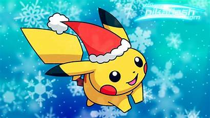 Christmas Pikachu Wallpapers Cut Chu Anime