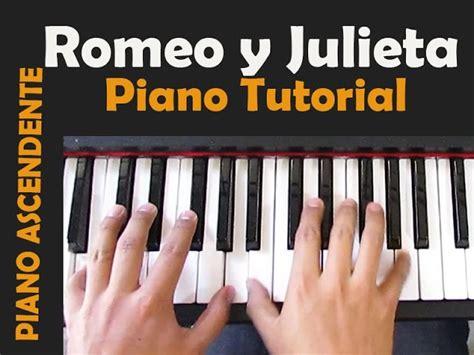 G#m bom (aahhh) bom (aahhh) bom (a. ROMEO Y JULIETA TUTORIAL PIANO Chords - Chordify