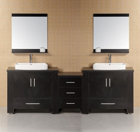 Two Vanities In Bathroom - sink vanity designs in gorgeous modern bathrooms