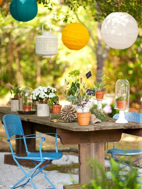 Garten Deko Vorschläge by Outdoor Deko Ideen 23 Farbenfrohe Originelle Vorschl 228 Ge