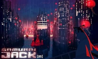Wallpaperaccess Scenery Wallpapers Samurai Jack Anime