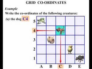 grid worksheets 4th grade grid coordinates