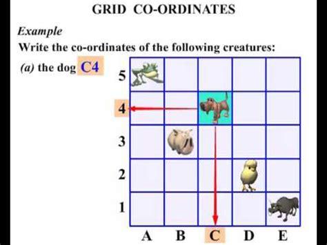 year 4 grid coordinates