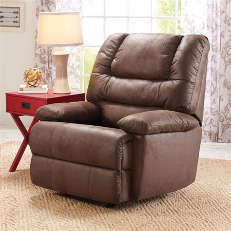 Recliner Rockers Chairs by Furniture Padded Angle Arm And Fully Padded Chaise With