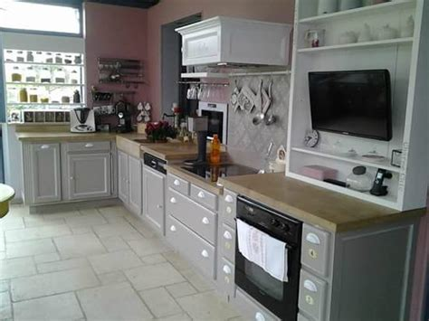 eleonore deco com cuisine relooking cuisine en gris de suède bâton d 39 huile blanc