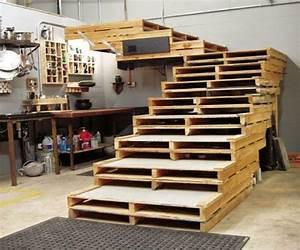 Planche Pour Marche Escalier #12 La Palette En Bois