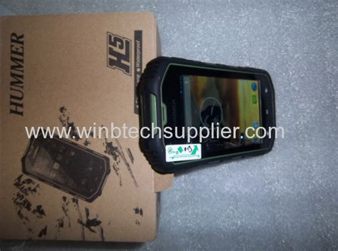 4inch Hummer H5 Smartphone Android 4.2 Real Waterproof