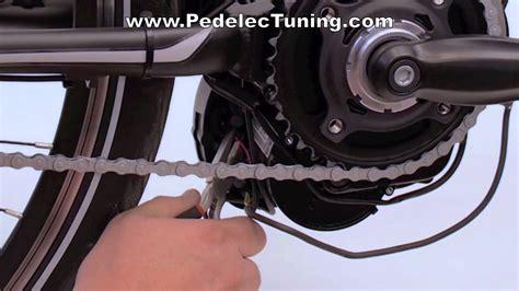 e bike tuning bosch performance pedelec tuning am e bike motor bosch classic und bosch active und performance modellen