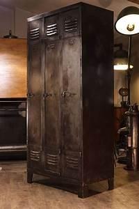 meuble industriel ancien vestiaire industriel plus d39info With meubles d entree vestiaire 13 meuble industriel decoration industrielle meuble de