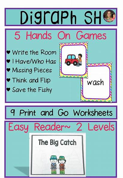Sh Digraph Words Reading Comprehension Consonant Word