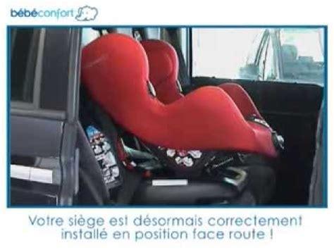 siege auto bebe confort iseos neo installation à la route du siège auto groupe 1 neo
