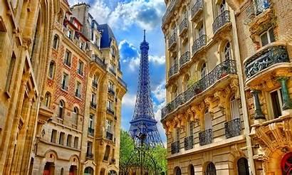 Paris Tower France Eiffel Buildings Between 1600