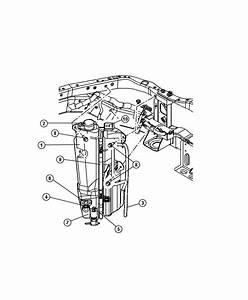 2008 Jeep Liberty Sensor  Washer Fluid Level