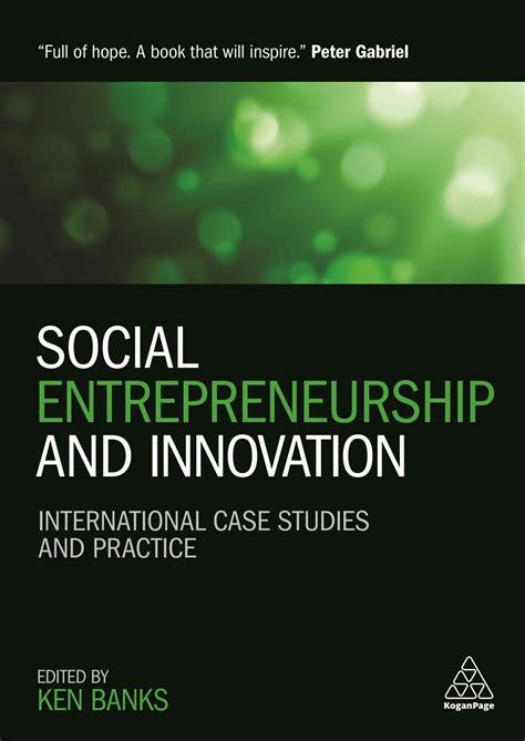 social entrepreneurship  innovation