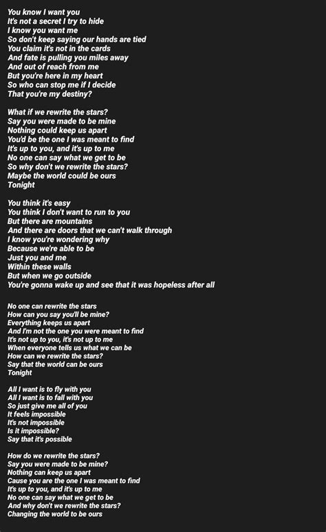 Testo The Best Of You by Rewrite The Lyrics Part 1 Credit By