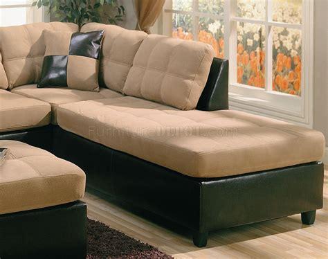 dark brown sectional sofa tone tan microfiber dark brown faux leather sectional sofa
