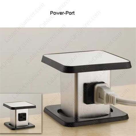 desk outlets power and data 2 port power and data desk outlets cableorganizer com