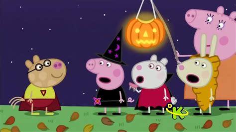 Peppa Pig  Halloween  Festa Da Abóbora Youtube