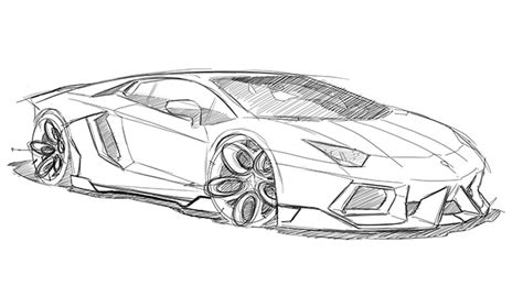 lamborghini sketch pin by efra biringan on mobil pinterest cars