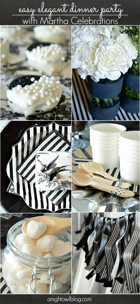 An Easy Elegant Dinner Party With #marthacelebrations A